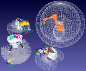 Robot Workspace for multiple robots