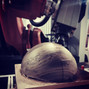 Robot Machining Wood
