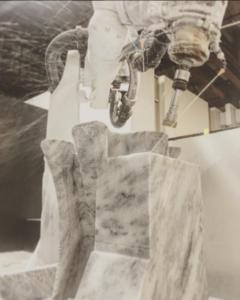 Robot Machining Marble