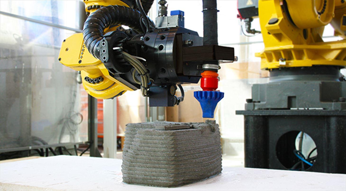 3D printing concrete