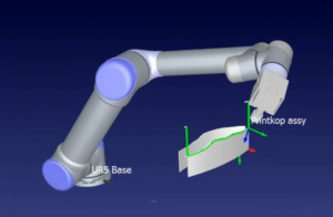 Automated Fiber Placement with a robot arm