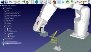 Blade Inspection Robot Simulation