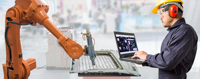 Industrial Robot HMI