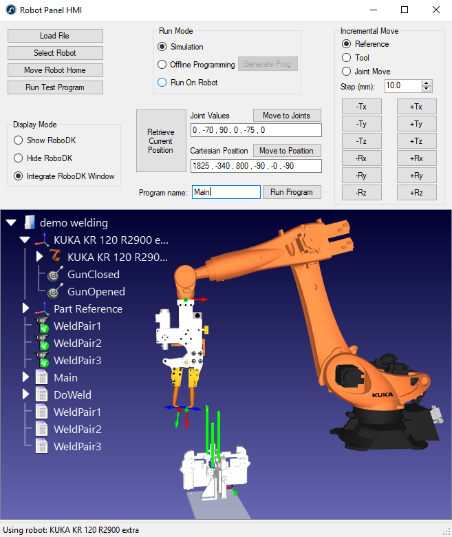 Robot HMI for Automation Projects - RoboDK blog
