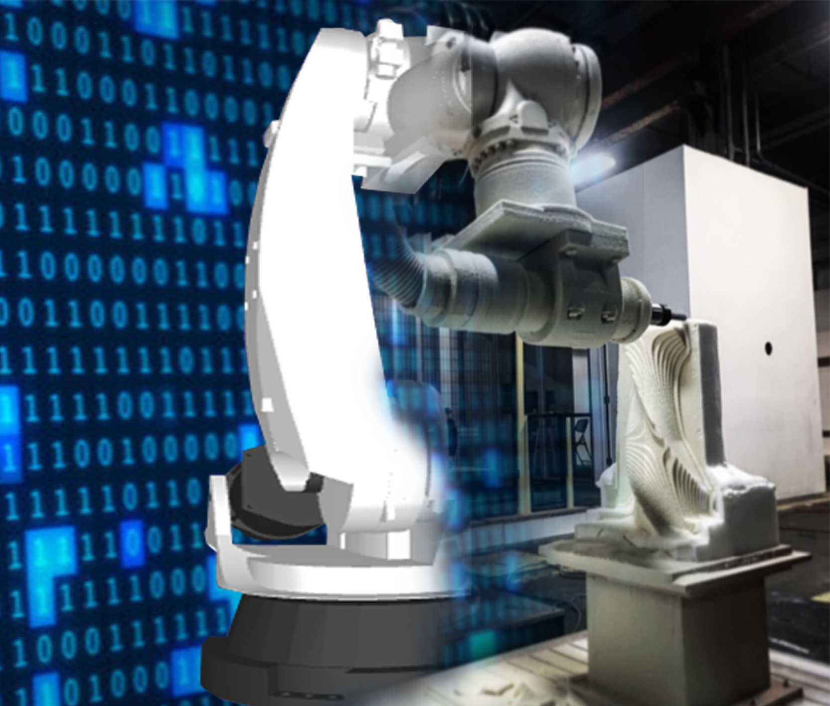 Can a Robot Outperform a CNC Machine for Robot Machining