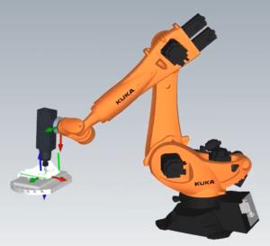 KUKA Robot Machining