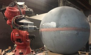 Robot Drilling with KUKA Titan