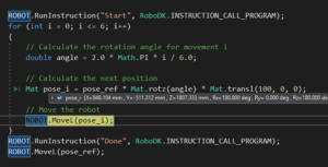 Robot Debug Program