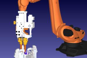 Robot Spot Welding