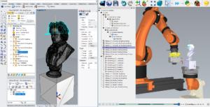 RoboDK Mecsoft 5 axis machining