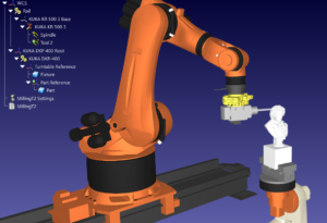 Multiaxis Robot Milling Cell