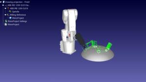 Robot Engraving Simulation