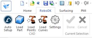 Siemens Solid Edge Toolbar