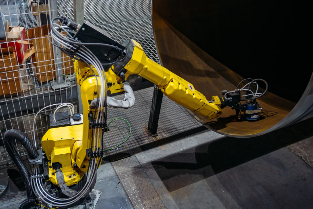 Robot inspection pipe