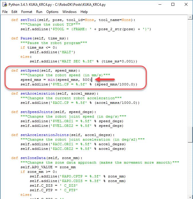 Post Processors - RoboDK Documentation