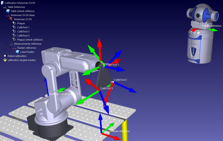 Robot Calibration (Laser Tracker) - RoboDK Documentation