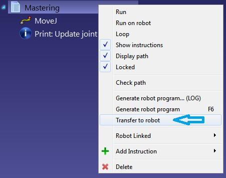 Robot Mastering - RoboDK Documentation