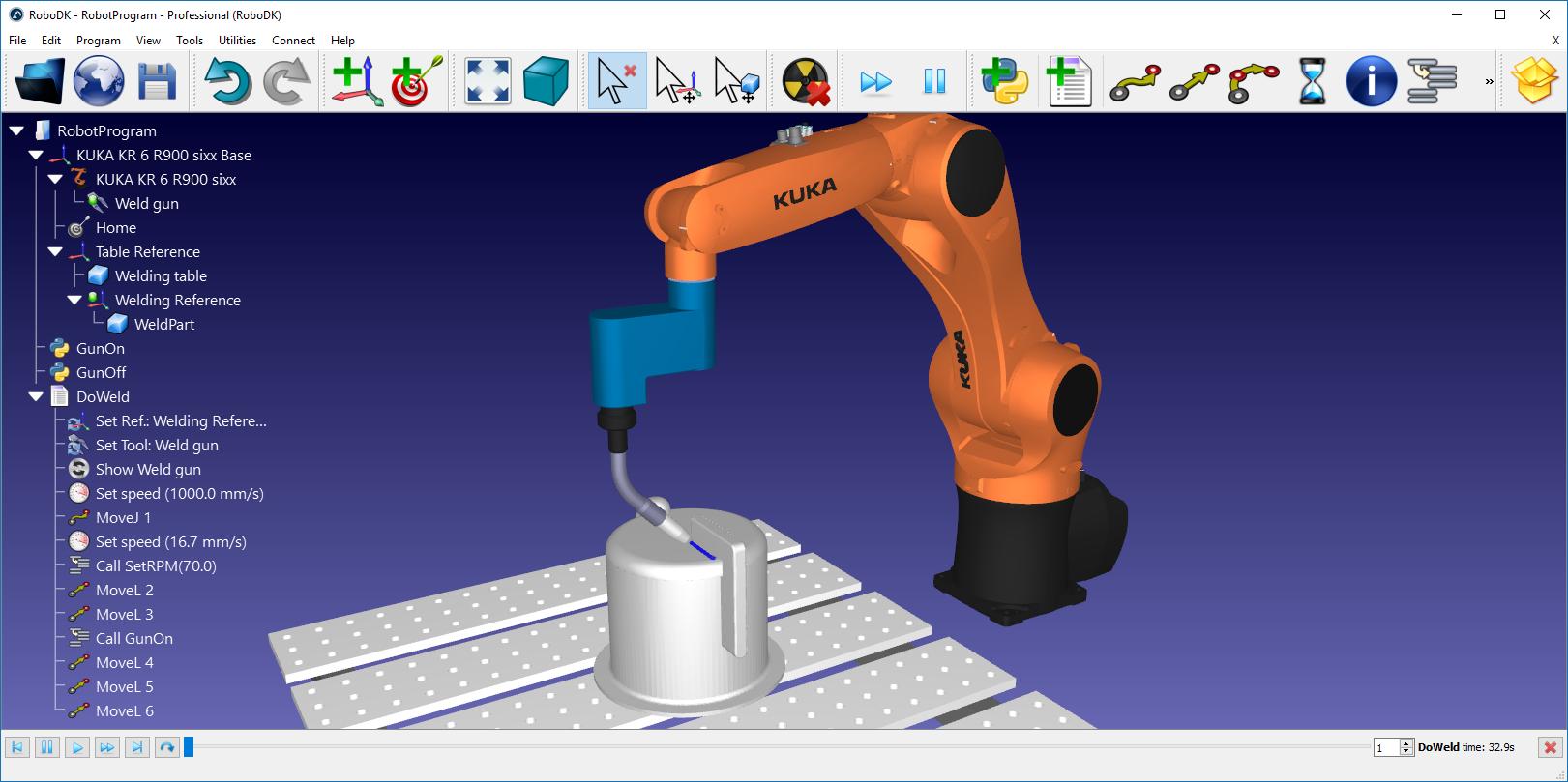 Robot Programs - RoboDK Documentation